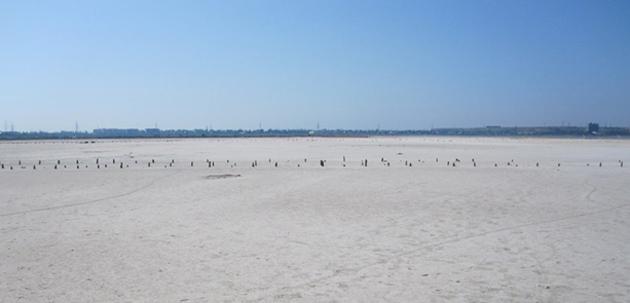 Куяльник перетворювався на соляну пустелю