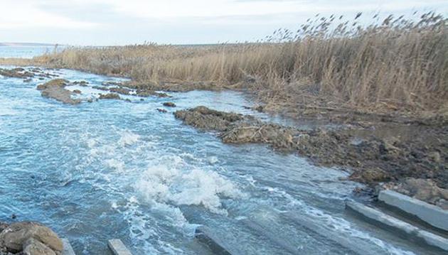 Морську воду пустили в Куяльн