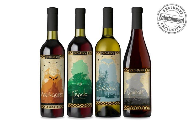 Warner Bros. выпустила вино по«Властелину Колец»