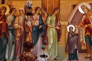 Християни східного  обряду святкують Введення Богородиці у храм