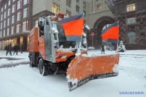 Киев в ожидании непогоды: дорожники подготовили более 400 спецмашин