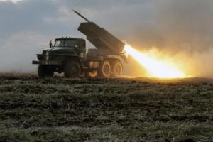 """ОБСЄ зафіксувала на Донбасі танки, """"Гради"""" і """"Жаби"""" окупантів"""