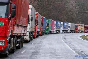 Киев ограничивает въезд грузовиков со стороны Борисполя