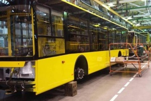 Kyiv receives new trolleybuses of Ukrainian manufacturer