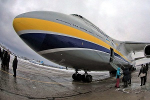 L'avion ukrainien « Ruslan » a transporté le plus grand satellite de Lockheed Martin