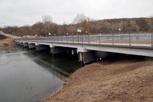 На Донеччині триває ремонт великого моста через Сіверський Донець