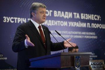 Pressure on media is unacceptable - Poroshenko