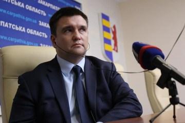 Klimkin parte a Viena para asistir a la reunión ministerial de la OSCE