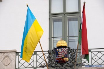 Ukrainian foreign minister can meet with his Hungarian colleague