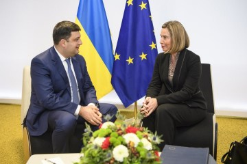 Groysman, Mogherini discuss progress of reforms in Ukraine