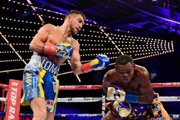 Lomachenko defeats Rigondeaux by TKO