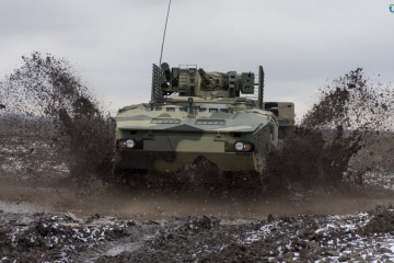 Poroshenko: New Ukrainian BTR-4MV1 successfully tested