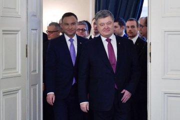Poroschenko: Strategische Partnerschaft mit Polen bleibt Priorität