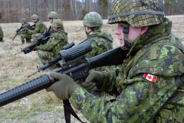 Le Canada veut élargir la formation de l'armée ukrainienne