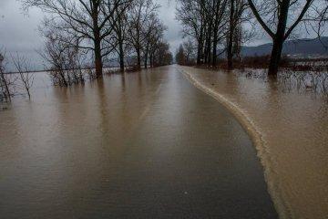 Un drone a filmé les villages les plus inondés de Transcarpatie (vidéo)