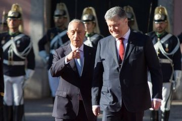 Trade turnover between Ukraine and Portugal grows by 35% this year – Poroshenko