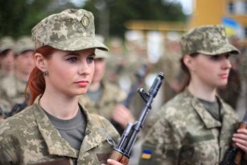 Un documentaire sur les femmes militaires est tourné en Ukraine