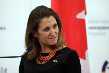 Freeland congratulates Prystaiko on new appointment