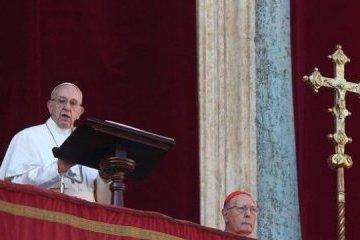El Papa Francisco pide la paz para Ucrania