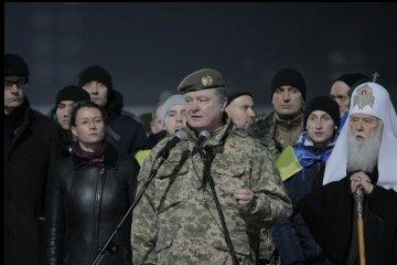 总统致获释的乌克兰人质:你们回到了自由的国家