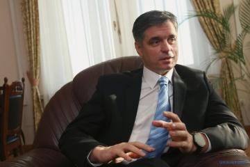 Prystaiko califica de inaceptable la visita de los funcionarios húngaros a la región de Zakarpatia en vísperas de las elecciones parlamentarias en Ucrania