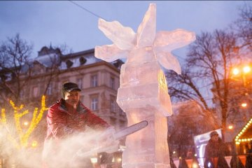 Lviv deviendra glaciale pour la période des Fêtes