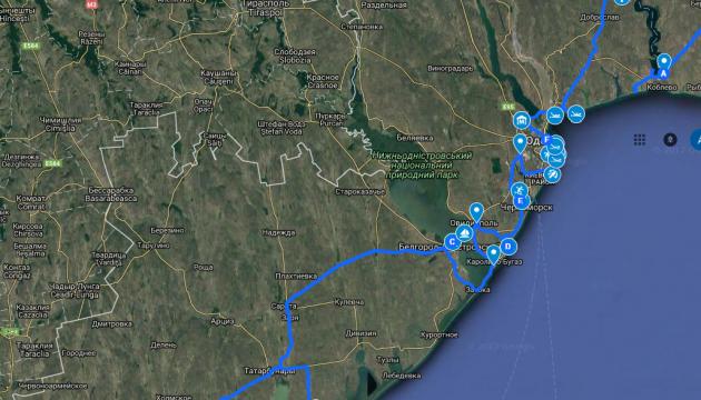 По Одесчине проложат 300-километровый маршрут для туристов
