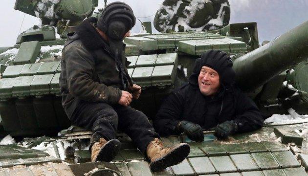 Генерал США проїхався на українському танку і постріляв із зенітки