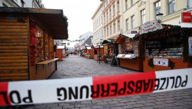 У Потсдамі евакуювали різдвяний ринок через загрозу вибуху