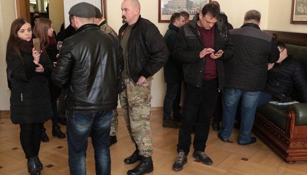 """Ветерани АТО вимагають відставки Садового через карту з """"народними республіками"""""""
