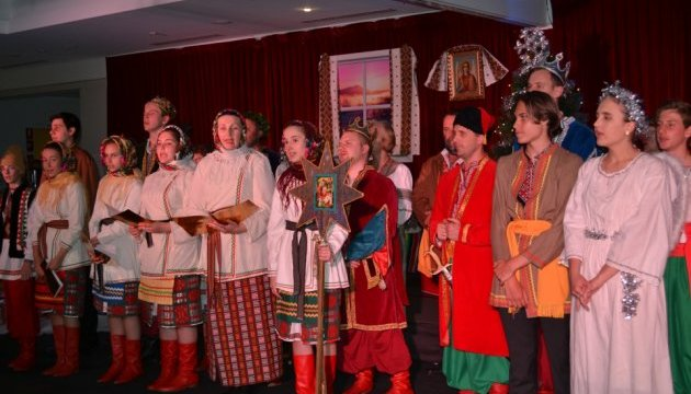 Різдво в Канберрі розпочалося з українського вертепу