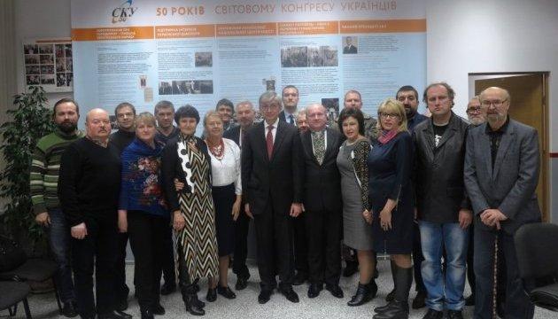 Евген Чолій зустрівся з українською діаспорою Латвії