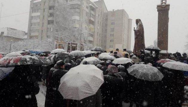 У Трускавці відкрили пам`ятник патріарху УГКЦ Йосипу Сліпому