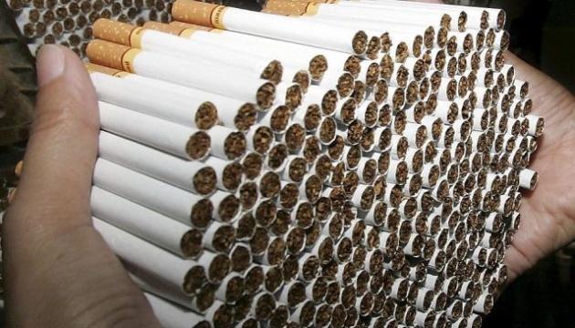 У зоні ООС перекрили контрабанду сигарет на суму 5 мільйонів