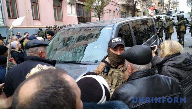 Постраждалих серед учасників блокування автомобіля з Саакашвілі немає - Князєв