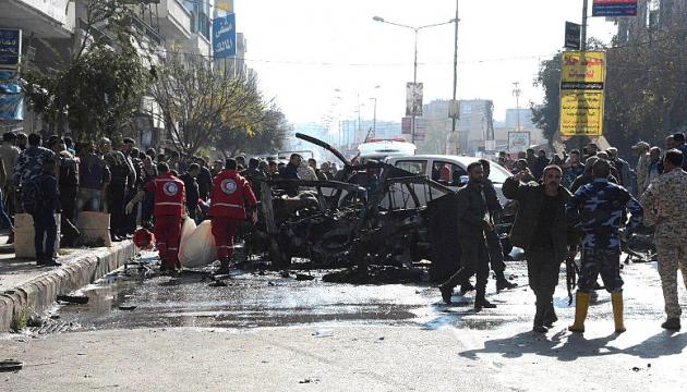 От подрыва автобуса в Хомсе погибли восьмеро, большинство - студенты