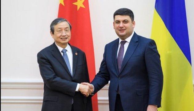 Premier: Ukraine und China setzen Projekte im Wert von $ 7 Mrd. um