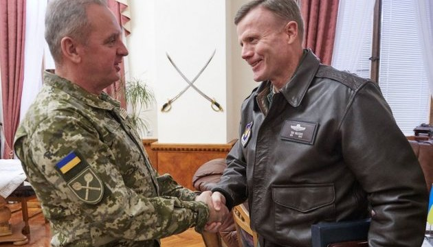 НАТО проведет в Украине учения воздушных сил