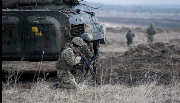 Ostukraine: Feind setzt Mörser ein, ein Soldat gestorben