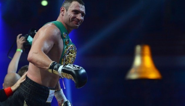 Vitali Klitschko is first Ukrainian elected to International Boxing Hall of Fame