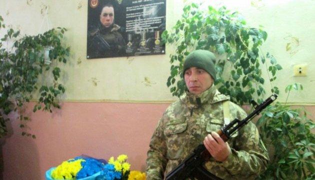 Загиблому бійцю АТО зі Слов'янська відкрили пам'ятну дошку в рідній школі