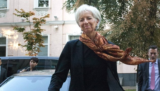 Christine Lagarde: IMF stands ready to continue to support Ukraine