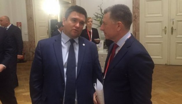 Klimkin, Volker meet in Vienna