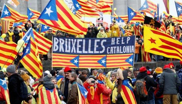 Более 20 человек получили травмы в ходе акций протеста в Барселоне