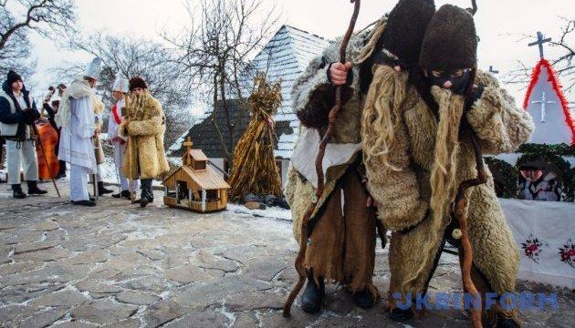 Новий рік на Закарпатті розпочнеться з п'яти гастрономічних і колядницьких фестивалів