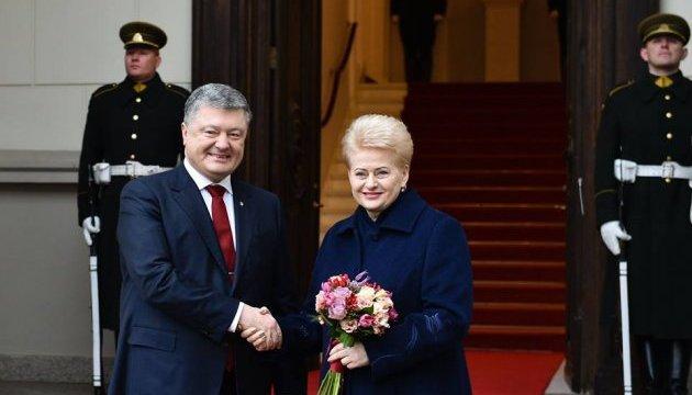Украинская власть должна обеспечить независимость НАБУ - Грибаускайте