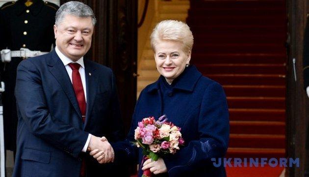 Grybauskaitė: Toda la Unión Europea apoya las reformas ucranianas en la lucha contra la corrupción