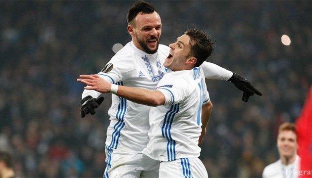 Мораес і Морозюк потрапили до символічної збірної тижня Ліги Європи УЄФА