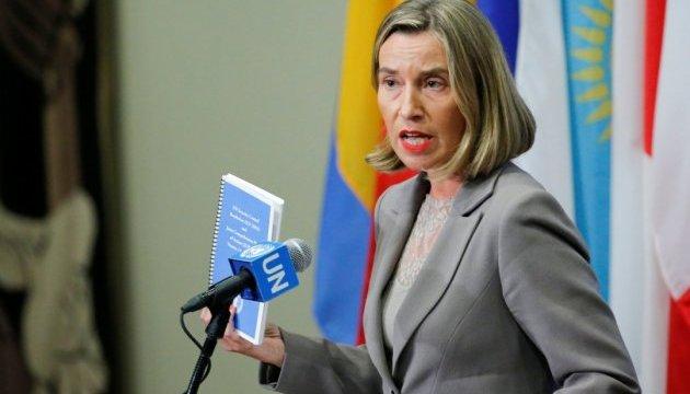 Евросоюз не устал от Украины - Могерини