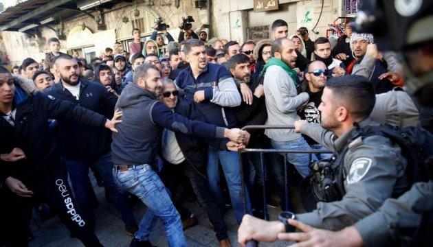 Під час протестів у секторі Газа загинули двоє палестинців